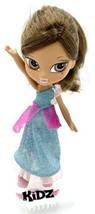 Bratz Kidz Girlz Girl 7 Inch Yasmin Doll Brown Hair Brown Eyes Dress Sho... - $3.95