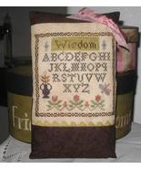Li'l Abby - Wisdom cross stitch chart Abby Rose Designs - $6.30