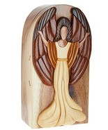 Carver Dan's Happy Angel Puzzle Box - $46.50