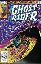 Ghost Rider Comic Book #74 Marvel Comics 1982 NEAR MINT - $9.74