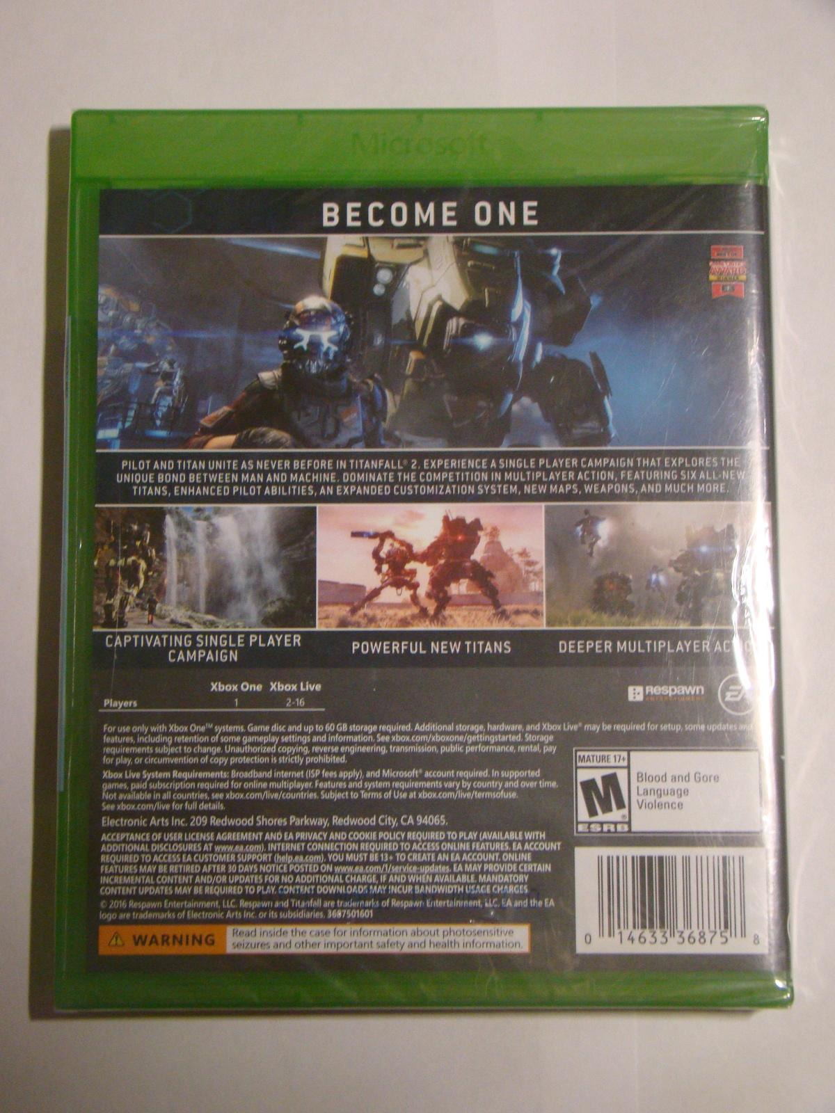 XBOX ONE - TITANFALL 2 (New)