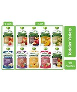 Sprout Organic Stage 4 Toddler Food, Power Pak & Smoothie Variety Sample... - $24.45