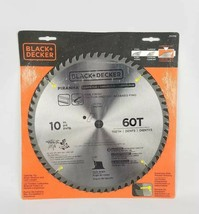 "(Lot of 2) Black & Decker 77-770 Piranha 10"" 60 Tooth ATB Saw Blade Carb... - $34.79"