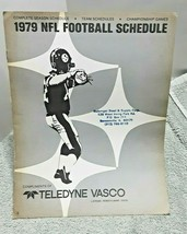 1979 NFL Football Schedule and Championship Game Program Terry Bradshaw  - $11.83