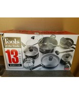 Tools of the Trade 13 Piece Black Non-Stick CookwareSet - New - Missing ... - $39.59
