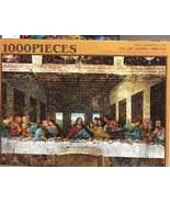 Chamber Art Jigsaw Puzzle The Last Supper 1000 Pieces 28.9 x 20 in. with... - $8.50