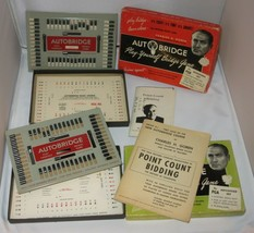 Vintage 1950's AutoBridge Play-Yourself Bridge Game Advanced & Beginner ... - $10.29