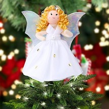 OurWarm Mini Angel Christmas Tree Topper Little 7 Inch Small Remembrance... - $17.12