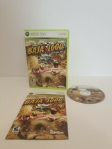 READ Score International Baja 1000 (Microsoft Xbox 360 , 2008) Includes Manual  - $15.83