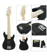 """30"""" Inch Kids Electric Guitar With 5W Amp Cable Cord shoulder strap - $129.99"""