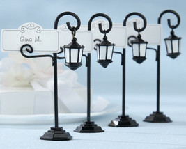 4 Bourbon Street Streetlight Wedding Place Card Holders Favor New Orlean... - $7.88
