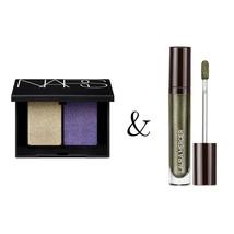 Premium Makeup Bundle   Nars Eyeshadow Duo + Laura Mercier Liquid Eye Shadow - $19.50