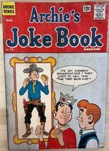 ARCHIE'S JOKE BOOK #72 (1963) Archie Comics G/VG - $9.89
