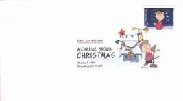 US #5021-30 2015 First-Class Issue Set Charlie Brown Snoopy Contemporary Christm image 2