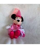 "Walt Disney Parks Plush Minnie Mouse Princess Plush Stuffed Doll Pink 14"" - $23.15"