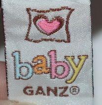 Baby Ganz Brand BG3192 Pink Black Zebra Print Ooh La La Plush Elephant image 6