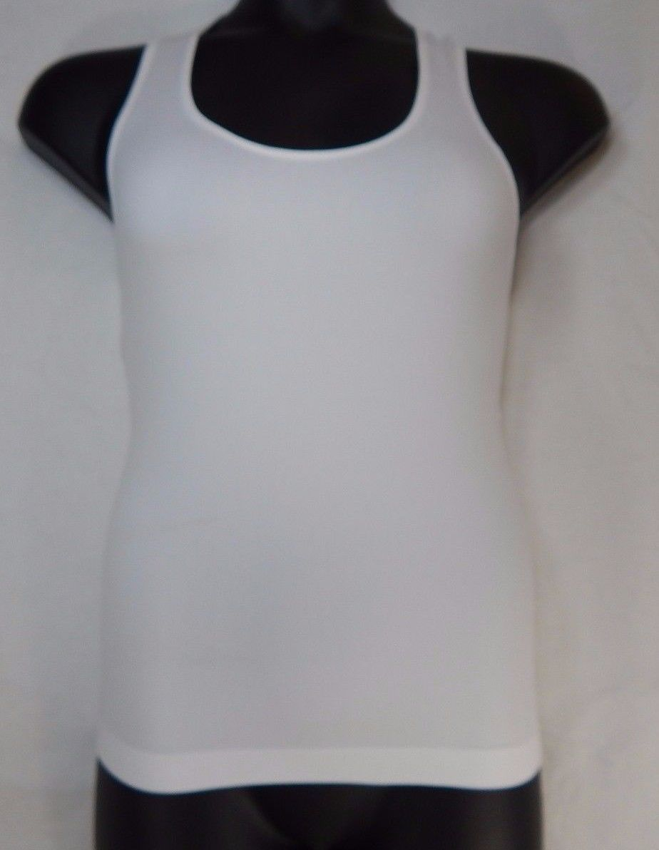 Wear Freedom Women's White Tank Top Size Large L / X- Large XL Racerback Tank