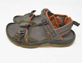 Sperry Men's Sz 7M Gray Orange Sports Sandals Loop Buckle Snap 0221341 - $19.95