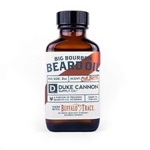 Duke Cannon Big Bourbon Beard Oil, 3 oz - Oak Barrel Scent