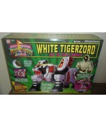 1994 Mighty Morphin Power Rangers White Tigerzord / Ranger .. New in Ope... - $99.00