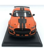 2020 Ford Mustang Shelby GT500 Orange Die Cast 1/18 Maisto Special Editi... - $34.99
