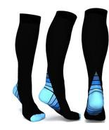 Mens Socks Basketball Football Knee High Socks Baseball Sports Socks Ove... - $9.97