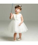 New Body Dress 0-24 Month Strapless White Flower Girl Dress Ball Gowns S... - $37.99