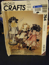 "McCall's Crafts 764 Ethnic Dolls & Clothes Pattern - Approx. 21"" Tall - $6.92"