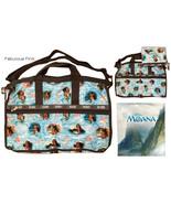 LeSportsac Disney Moana Wave Reader Large Weekender + Cosmetic Bag Free ... - $145.00