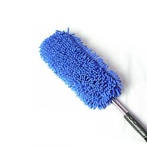 Highly Absorbent Cleaning Supplies Chenille Yarn Car Duster/Dust brush,BLUE