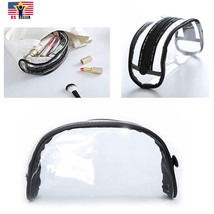 Travel Waterproof Transparent Cosmetic Bag Clear Makeup Brush Pencil Cas... - $9.89