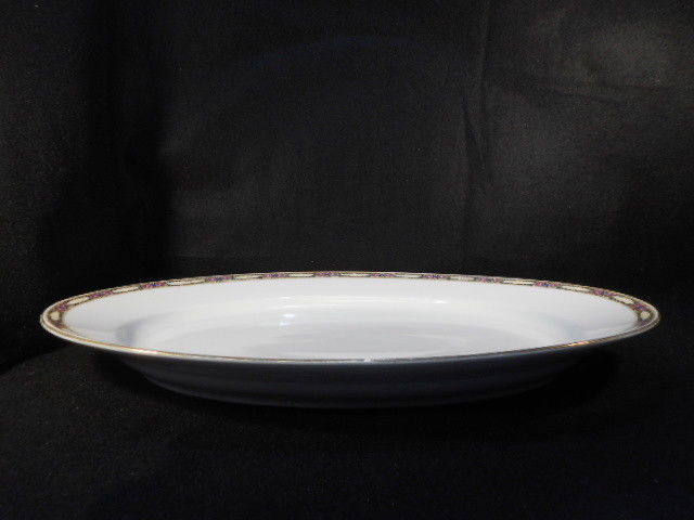 "Royal Bayreuth ROB 72 English Bone China 16 1/4"" Oval Platter"