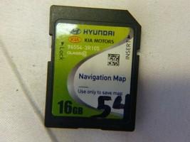 14 15 Kia Cadenza GPS Navigation Map Card 96554-3R105 STK54 - $29.70