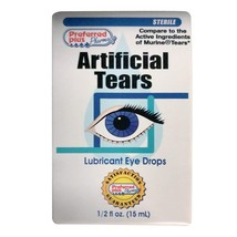 Artificial Tears Lubricant Eye Drops 15 ml Pack of 2 - $9.30