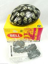 BELL 40th Anniversary Kids bicycle Helmet Rad Rider Skull Small / Med Black Bike - $28.04