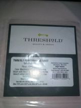 Threshold Performance Solid Duvet & Sham Set, Pedal Pink , Twin/XLT image 3