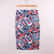 Geometric Print Pencil Skirt - $20.99