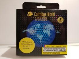 PC-BCMY-CLI551MP-HC Multipack Premium Ink Cartridge - $13.76