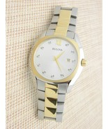 Bulova Diamond Men's Quartz Watch with Dial Analogue Display 98D125 - $173.24
