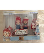 "BARBIE COLLECTIBLES kELLY & TOMMY DOLLS AS RAGGEDY ANN & ANDY 4½""  Set - $19.97"