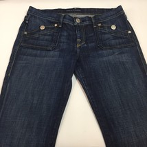 Rock & Republic Medium Wash Button Flap Pockets Jeans Women's Size 31 - $16.68