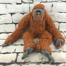 "K&M Int Gorilla Monkey Plush 20"" Brown Self-Stick Hands Hanging Stuffed Animal - $14.84"