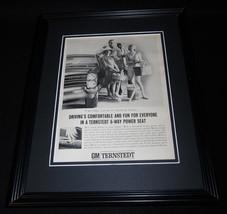 1965 GM Ternstedt 11x14 Framed ORIGINAL Vintage Advertisement - $34.64