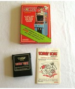 Atari 2600 Donkey Kong Coleco Cartridge Box and Instructional Booklet 1982 - $14.24