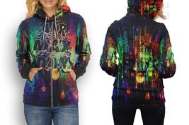 hoodie women zipper Retro Style 04 - $48.25+