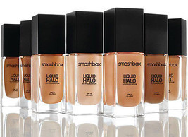 Smashbox Liquid Halo HD Foundation SHADE 5 Oil Free & Photo Finish Sam S... - $46.53