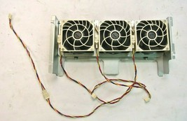 3x Tray SuperMicro DC12V 0.55A Nidec 80mm FAN-0126L4 V80E12BHA5-57 for C... - $45.00