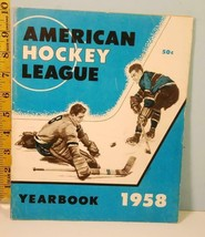 1958 The American Hockey League Yearbook - $34.65