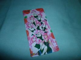 Sailor moon bookmark card sailormoon manga  Inner Outer sexy black dresses - $6.00