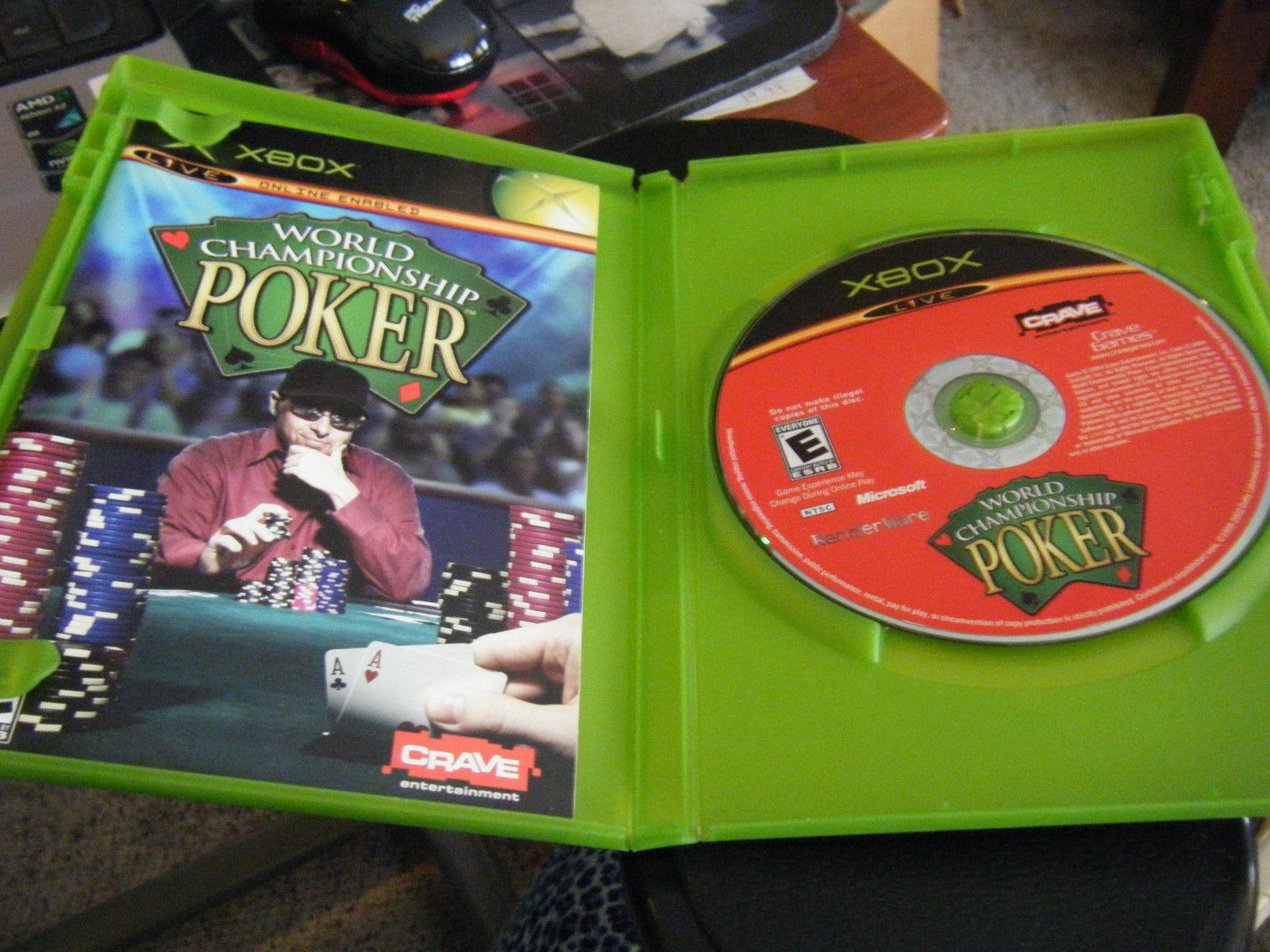 World Championship Poker (Xbox, 2004) - Complete!!